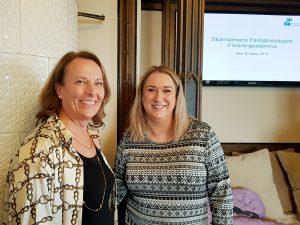 Catarina Johansson Nyman och Jeanette Hegedus från SL/SLL