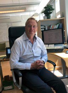 Sonny Söderström, vd Skärholmens Fastighetsägare