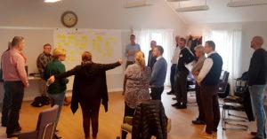 Workshop - Gemensam målbild för trygghet och trivsel i Skärholmen för framtiden.