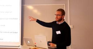 Oliver Berger, projektledare, Skärholmens Fastighetsägare