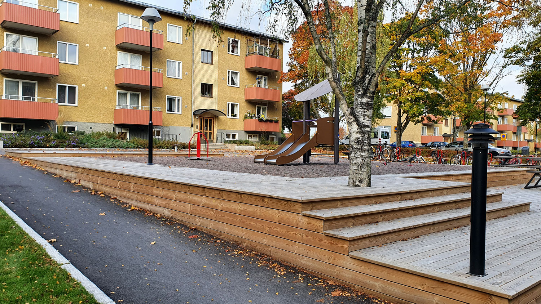Innergård hos Einar Mattsson
