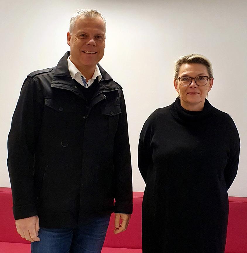 Leif Eriksson och Kirsi Naskali