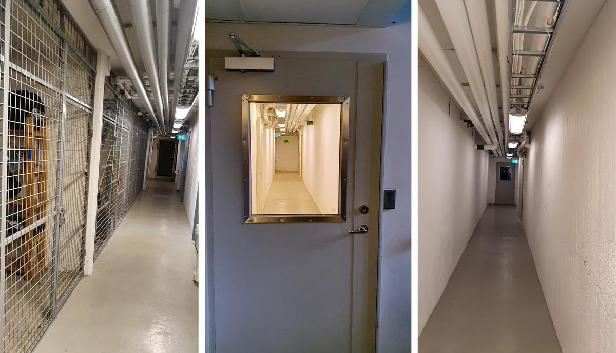 Renoverade trygga källare hos Einar Mattsson
