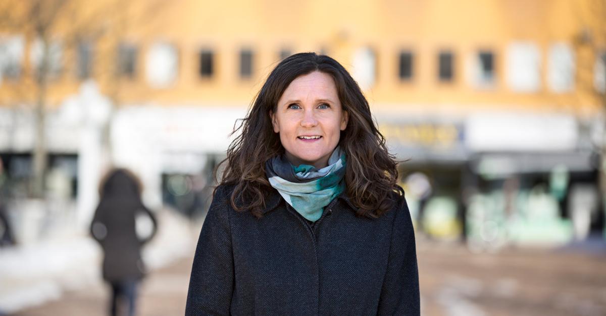 Karin Ahlzén, projektchef för Fokus Skärholmen. Foto: Liselotte Van Der Meijs