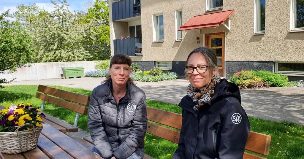 Helena Engberg och Jenny Fahlman Ör